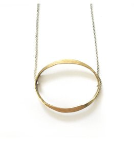 Kiersten Crowley Classic Oval Necklace