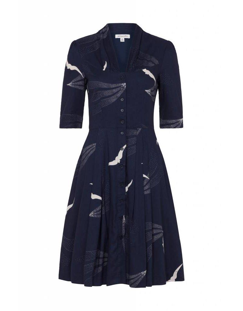 Emily & Fin Rose Dress - Skyline