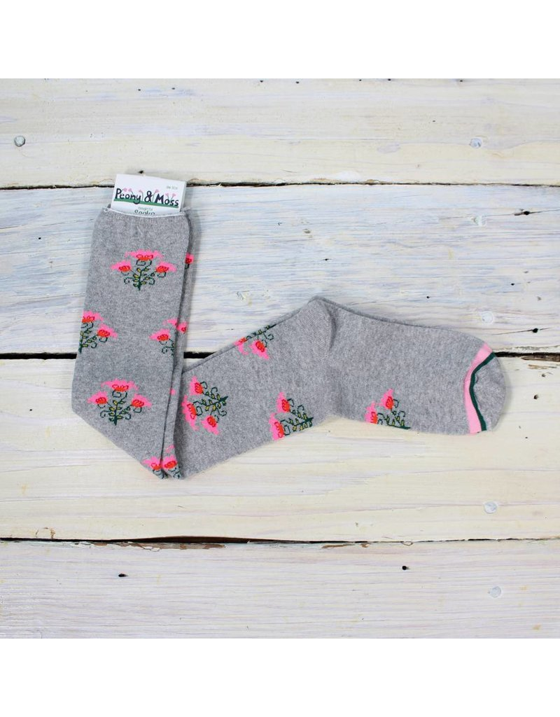 Peony & Moss Floral Dreamer Knee High