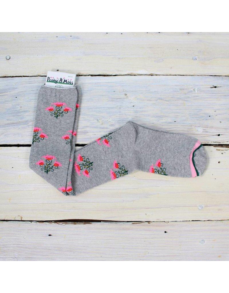 Peony & Moss Floral Dreamer Knee High