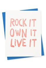 417 Press Rock it Card