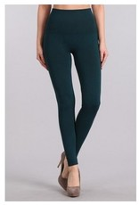 M Rena Tummy Tuck Leggings by M Rena - Teal