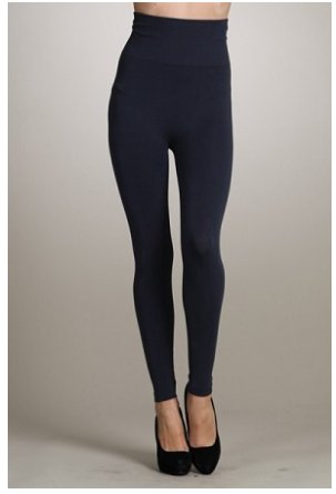 M Rena Tummy Tuck Leggings by M Rena - Ink