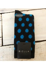 B. Ella Cashmere Blend Sock - Blue Dot
