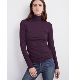 Velvet Tali Turtleneck - Wine