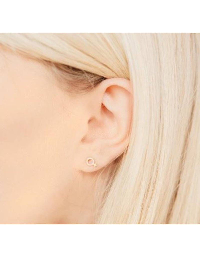 Katie Dean Jewelry Female Studs