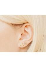 Katie Dean Jewelry Geo Mini Studs