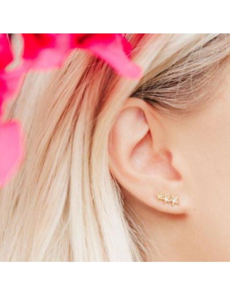 Katie Dean Jewelry Starburst Ear Crawler