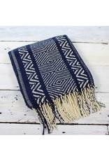Blanket Scarf - Navy