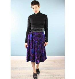 Sarah Bibb Syd Mid Skirt - Royal Roses