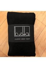 B. Ella Fleece Lined Tights - Black