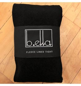 B. Ella Fleece Lined Tights - Black