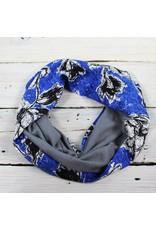 Sarah Bibb Single Loop Infinity Scarf - Blue Dove/Fleece