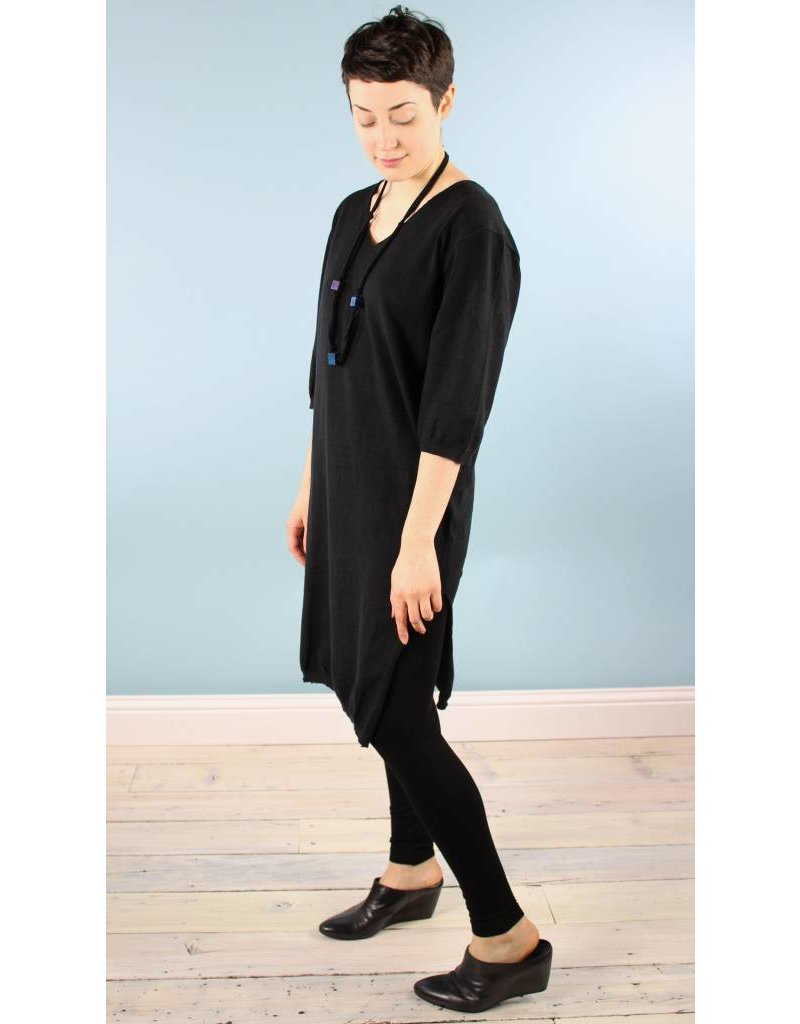 dra Jan Sweater Dress - Obsidian