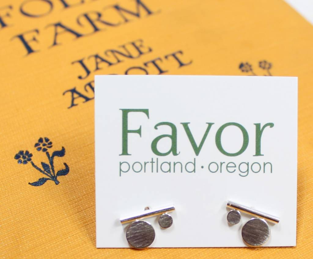 Favor Nomad Posts - Sterling Silver
