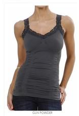M Rena Favorite Lace Camisole - Dark Grey