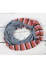 Sarah Bibb Single Loop Infinity Scarf - Ernie/Fleece