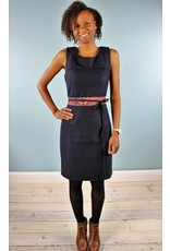 Shera Dress - Deepest Navy