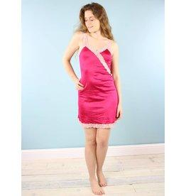 Sarah Bibb Ava Slip - Limited Edition Hand Dyed Raspberry