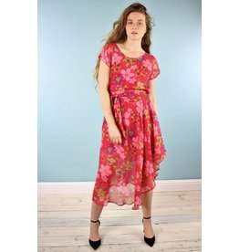 Sarah Bibb Nora Dress  - Pansy