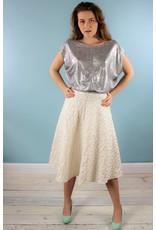 Sarah Bibb Zoe Skirt - Studio Silver