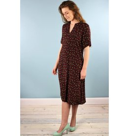 Sarah Bibb Nina Midi Dress - Red Sweets
