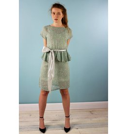 Sarah Bibb Laurel Peplum Dress - Sea Brook