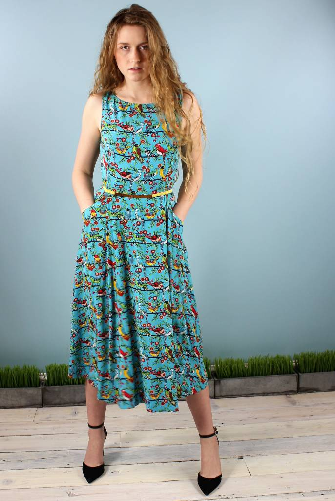 Emily & Fin Jasmine Dress - Aztec Birds