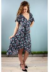 Cameo Sasha Wrap Dress - Petunia