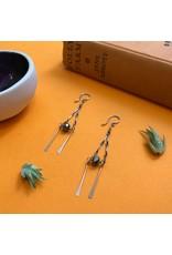 Amy Olson Prospera Earrings - Pyrite