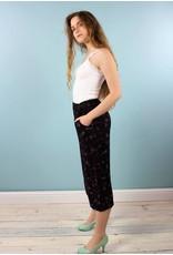 Sarah Bibb Gemma Cropped Palazzo Pants- Lil