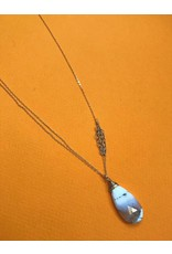 Amy Olson Dandelion Necklace - Dendritic Opal