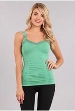 M Rena Favorite Lace Camisole - Jade