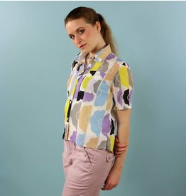 One Imaginary Girl Shelly Blouse - Vintage Floral