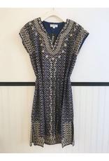 Zanzy Dress - Navy