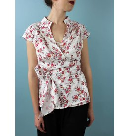 Sarah Bibb Willie Wrap Top - Blossom