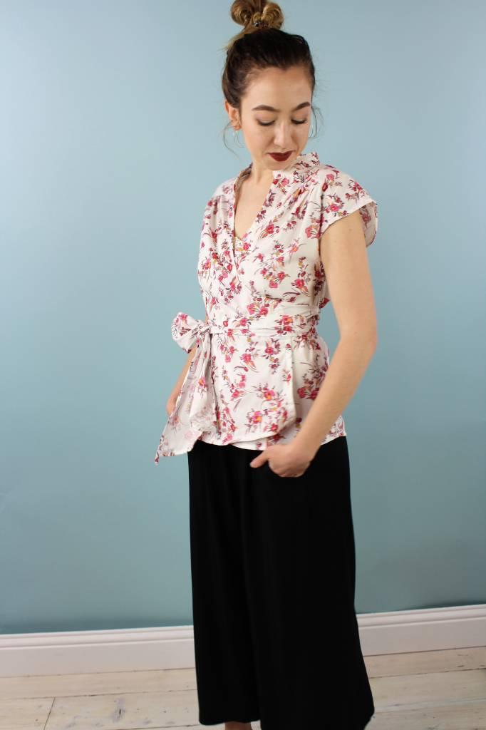Sarah Bibb Willie Wrap Top - Blossom