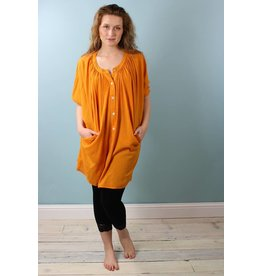 Circle Dress - Saffron