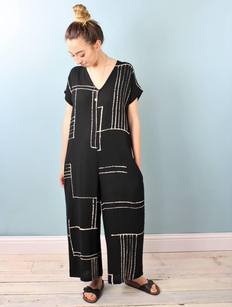 Bel Kazan Odine Jumpsuit - Black Matara