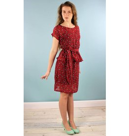 Sarah Bibb Laurel Peplum Dress -Birdy