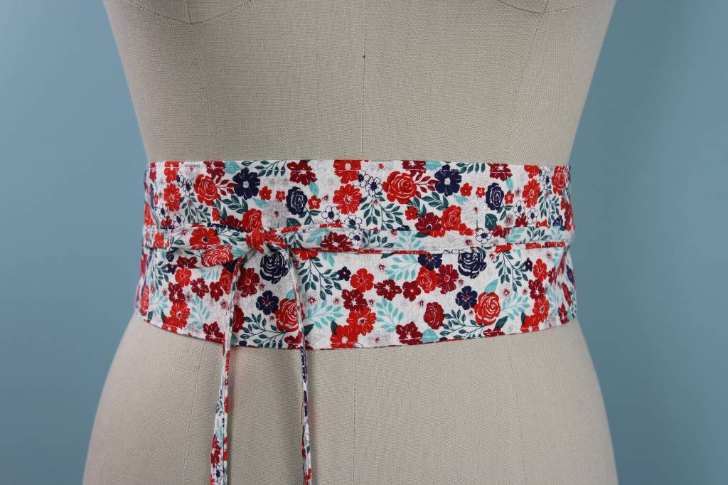 Sarah Bibb Obi Belt- Spangle