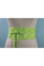 Sarah Bibb Obi Belt- Fern Rose