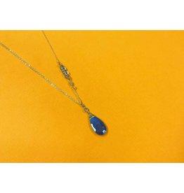Amy Olson Sarah Necklace - Sapphire/Labradorite