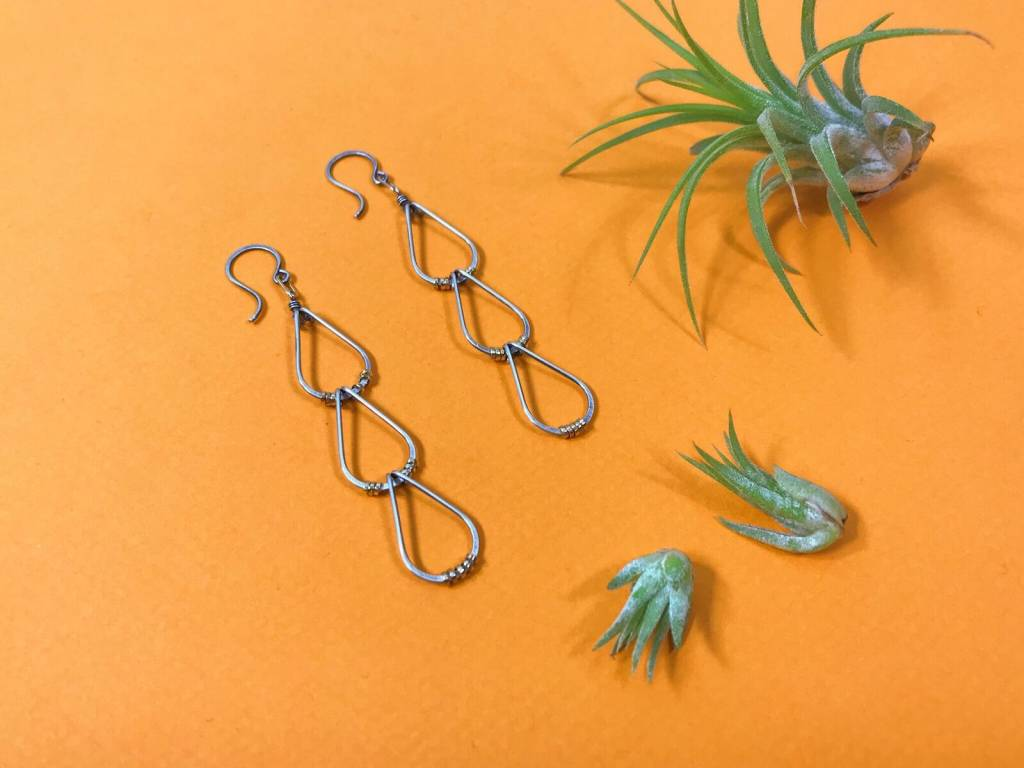 Amy Olson Triple Drop Earring - Mixed