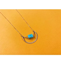 Amy Olson Nested Turquoise Necklace