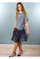 Sarah Bibb Paulie Dress - Iznik/Dottie