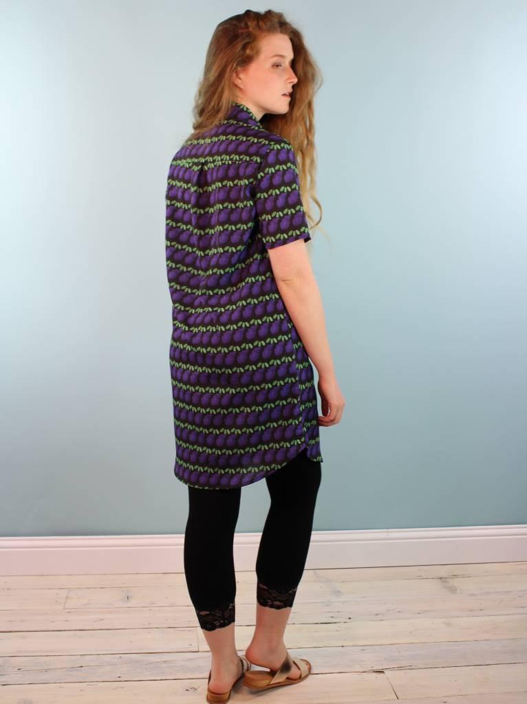 One Imaginary Girl Geri Shirt Dress - Lavi