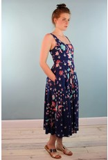 Bel Kazan Sofi Dress - Blue Batik