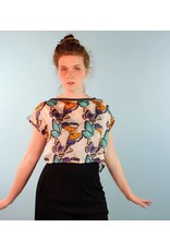 Sarah Bibb Rita Top - Stars/Butterfly