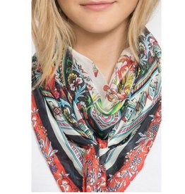 Johnny Was Silk Tassel Scarf - Vic